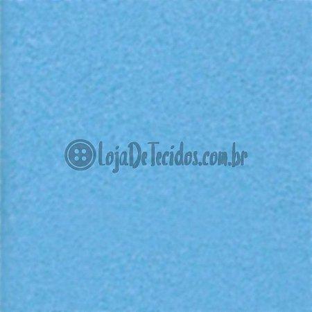 Feltro Liso Azul Claro 1,40m de Largura