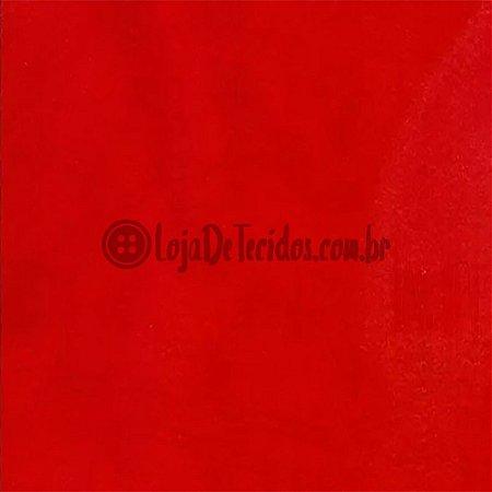 Feltro Liso Vermelho 1,40m de Largura