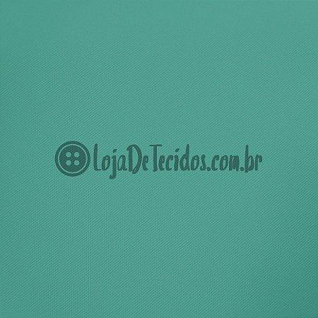 Montaria Twill Liso Verde Jade 1,50m de Largura