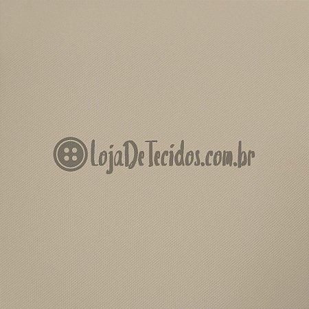 Montaria Twill Liso Palha 1,50m de Largura