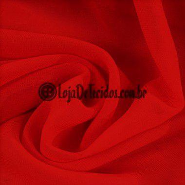 Musseline Liso Vermelho 1,40mt de Largura