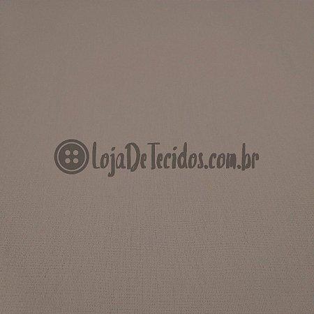 Percal 150 Fios Liso Bege Escuro 2,50m de Largura