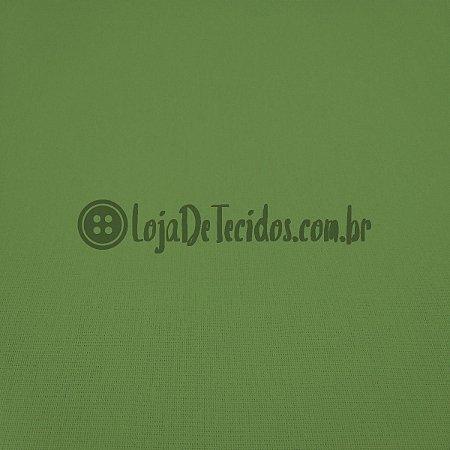 Percal 150 Fios Liso Verde Oliva 2,50m de Largura