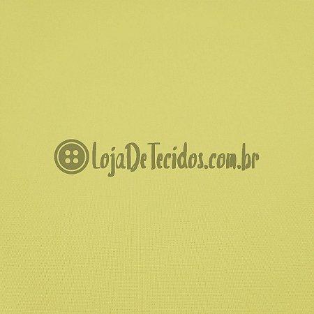 Percal 150 Fios Liso Amarelo Bebê 2,50m de Largura