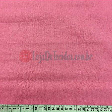 Percal 150 Fios Liso Rosa 2,50m de Largura