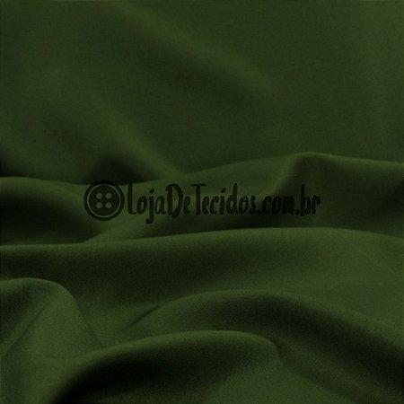 Oxford Fio Tinto Liso Verde Musgo 1,47m de Largura