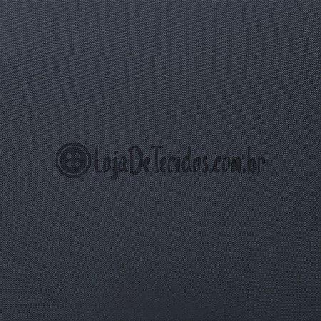 Oxford Fio Tinto Liso Chumbo 1,47m de Largura
