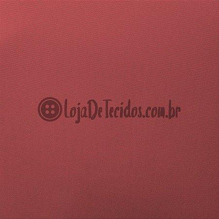 Oxford Fio Tinto Liso Terracota 1,47m de Largura