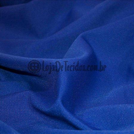 Oxford Fio Tinto Liso Azul Royal 1,47m de Largura