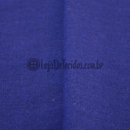 Linho Misto Azul Royal 1,40mt de Largura