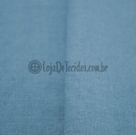 Linho com Viscose Azul Bebê 1,33m de Largura