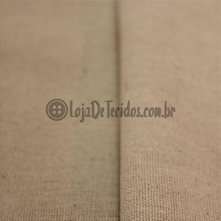 Linho com Viscose Bege/Cru 1,40m de Largura