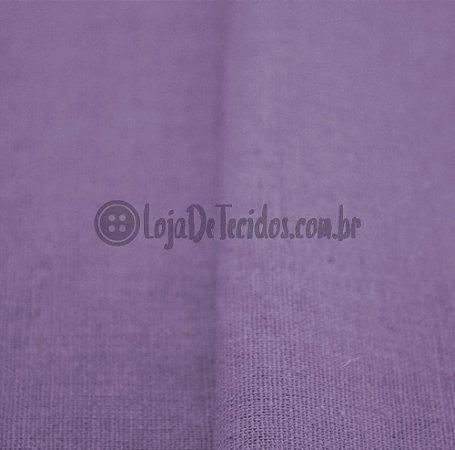 Linho Misto Lilás 1,40mt de Largura