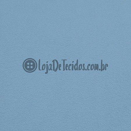 Atoalhado 100% Algodão Liso Azul 1,40mt de Largura