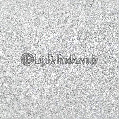 Atoalhado 100% Algodão Liso Branco 1,40mt de Largura