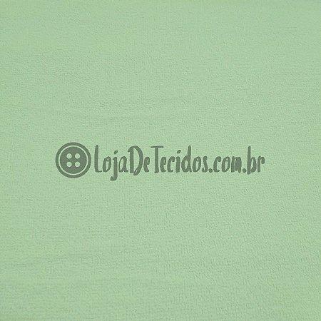 Atoalhado 100% Algodão Liso Verde Claro 1,40mt de Largura