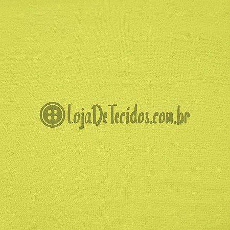 Atoalhado Liso Amarelo 1,40m de Largura