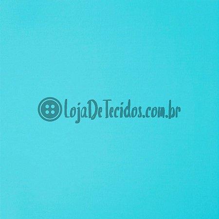 Viscolycra Liso Azul Turquesa 1,65m de Largura