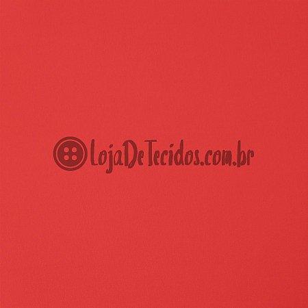Viscolycra Liso Vermelho 1,65m de Largura
