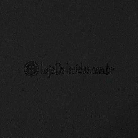 Viscolycra Liso Preto 1,65m de Largura
