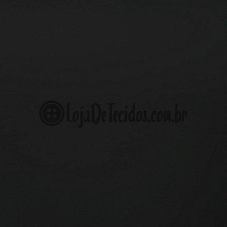 Suplex Tinto Preto 1,50m de Largura