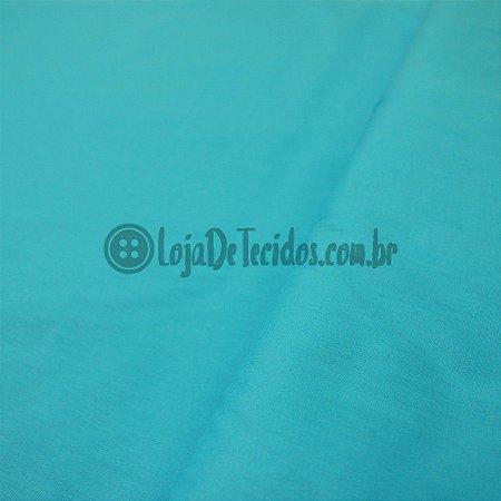 Tricoline Liso Azul Claro 1,50m de Largura