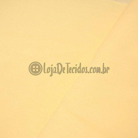 Tricoline Liso Amarelo Bebê 1,50m de Largura
