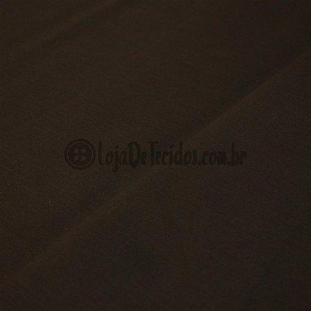 Tricoline Liso Marrom Escuro 1,50m de Largura