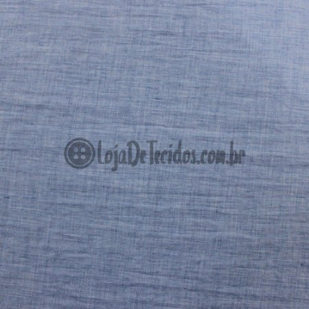 Paraty Linen Look Azul Jeans 1,65m de Largura