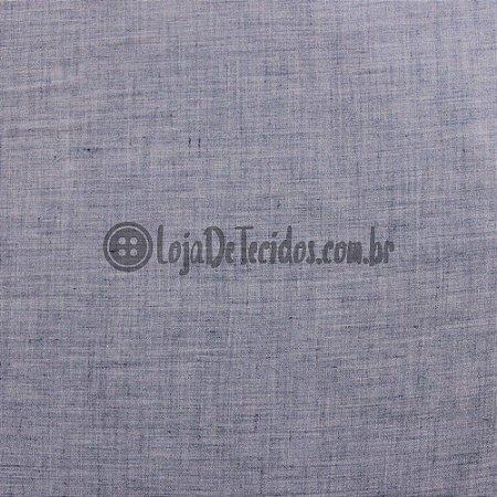Paraty Linen Look Azul Jeans Escuro 1,65m de Largura