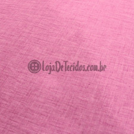 Paraty Linen Look Rosa Pink 1,65m de Largura