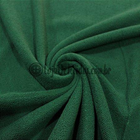 Atoalhado Microfibra Verde Bandeira 1,40mt de Largura
