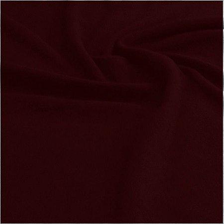 Soft Liso Vermelho Marsala 1,60mt de Largura