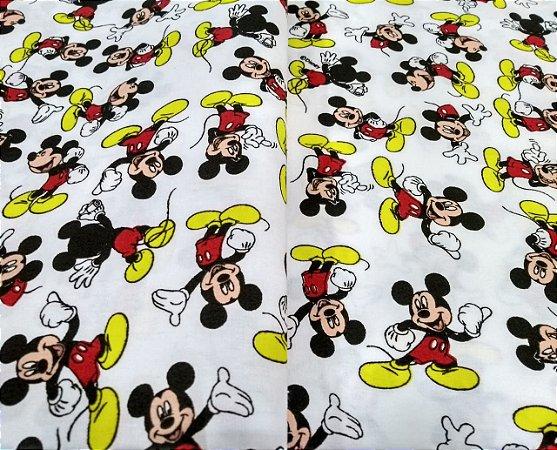 Tricoline Licenciado Tema Mickey Mouse