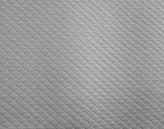 Matelassê Liso Branco 1,45mt de Largura