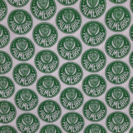 Tricoline Licenciado Tecido Misto Tema Palmeiras
