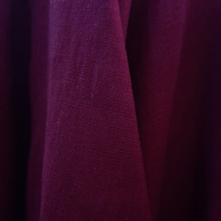 Linho Misto com Elastano Vermelho Marsala 1,40mt de Largura