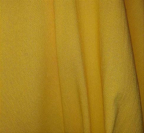 Linho Misto com Elastano Amarelo 1,40mt de Largura