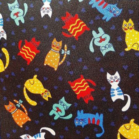 Oxford Estampado Tema Pets 1,50mt de Largura
