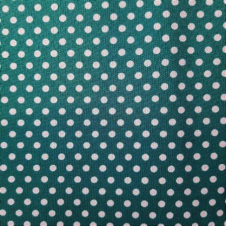 Oxford Estampado Poá Fundo Verde Jade 1,50mt de Largura