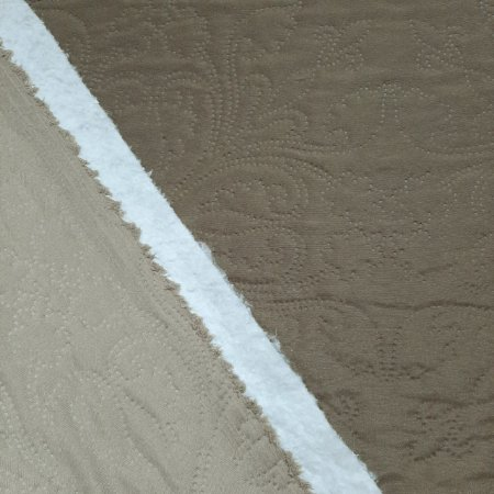 Tecido Matelado Liso Bege/Caqui 2,40mt de Largura