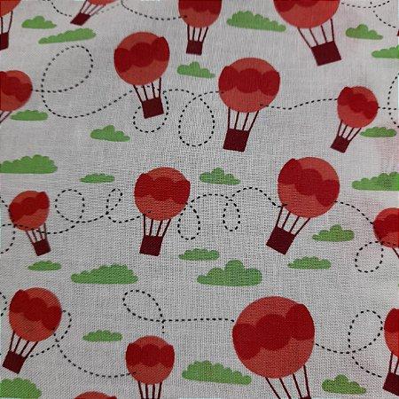 Tricoline Estampado Balões