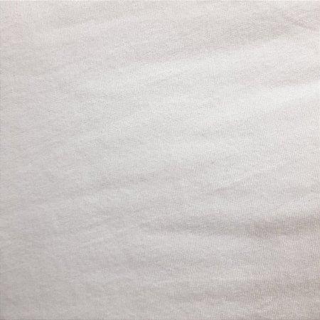 Malha Plush Branco 1,60mt de Largura