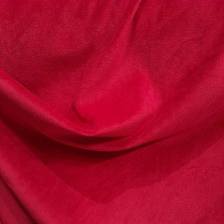 Malha Plush Vermelho 1,60mt de Largura