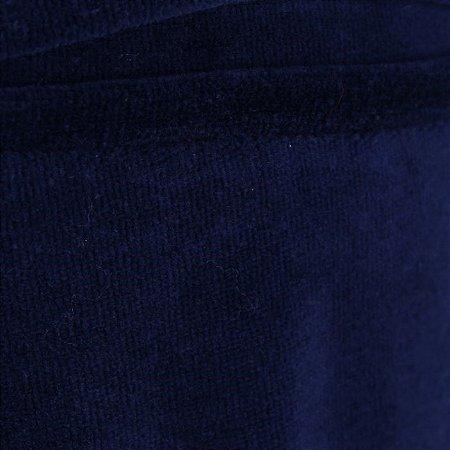 Malha Plush Azul Marinho 1,60mt de Largura