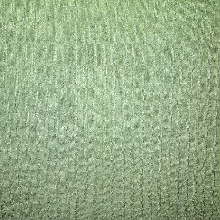 Malha de Viscose Canelada Verde Claro 1,30mt de Largura