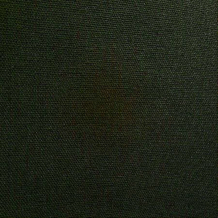 Linho Misto Verde Musgo 1,40mt de Largura