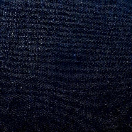 Linho Misto Azul Marinho 1,40mt de Largura