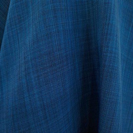 Crepe Armani Stretch Azul Petróleo 1,50mt de Largura