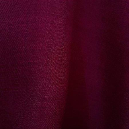 Crepe Armani Stretch Vermelho Marsala 1,50mt de Largura